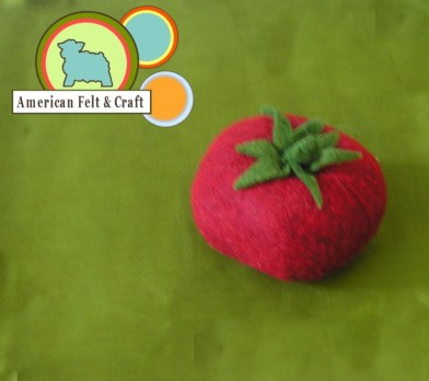 felt food tomato how to wash felt food