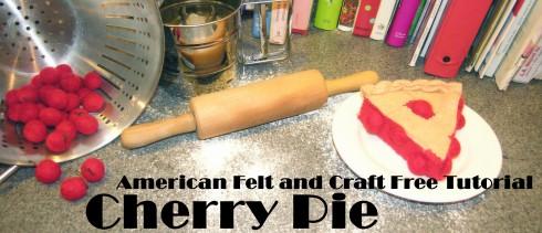 Copyright American Felt and Craft cherry pie header