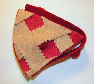 Copyright American Felt and Craft cherry pie step15