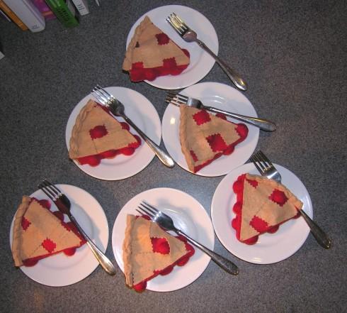 Copyright American Felt and Craft cherry pie19