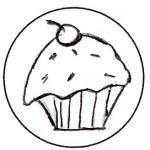 cupcakeclip AmericanFeltandCraft.com