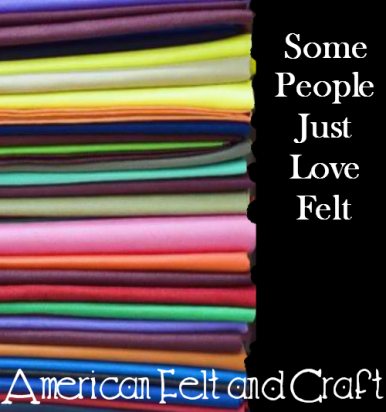 Felt from American Felt and Craft - over 140 colors!