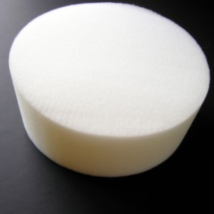 Foam round for cakes sold at American Felt and Craft