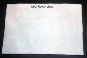 Lã / Rayon Blend $ 0.75