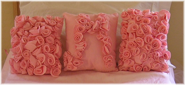 Bed Of Roses Sweet Little Rose Accent Pillows American
