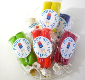 Popsicle party favors