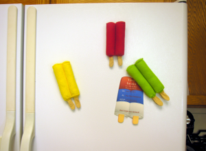 Popsicle magnet tutorial