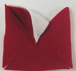 how to make a felt pinwheel tutorial