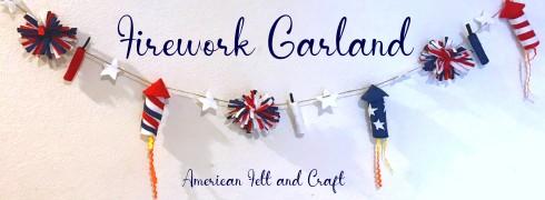 4th of July felt crafts