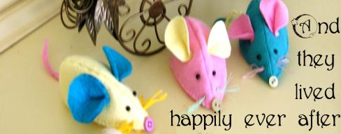 Felt mice free blog tutorial