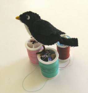 wool Felt bird