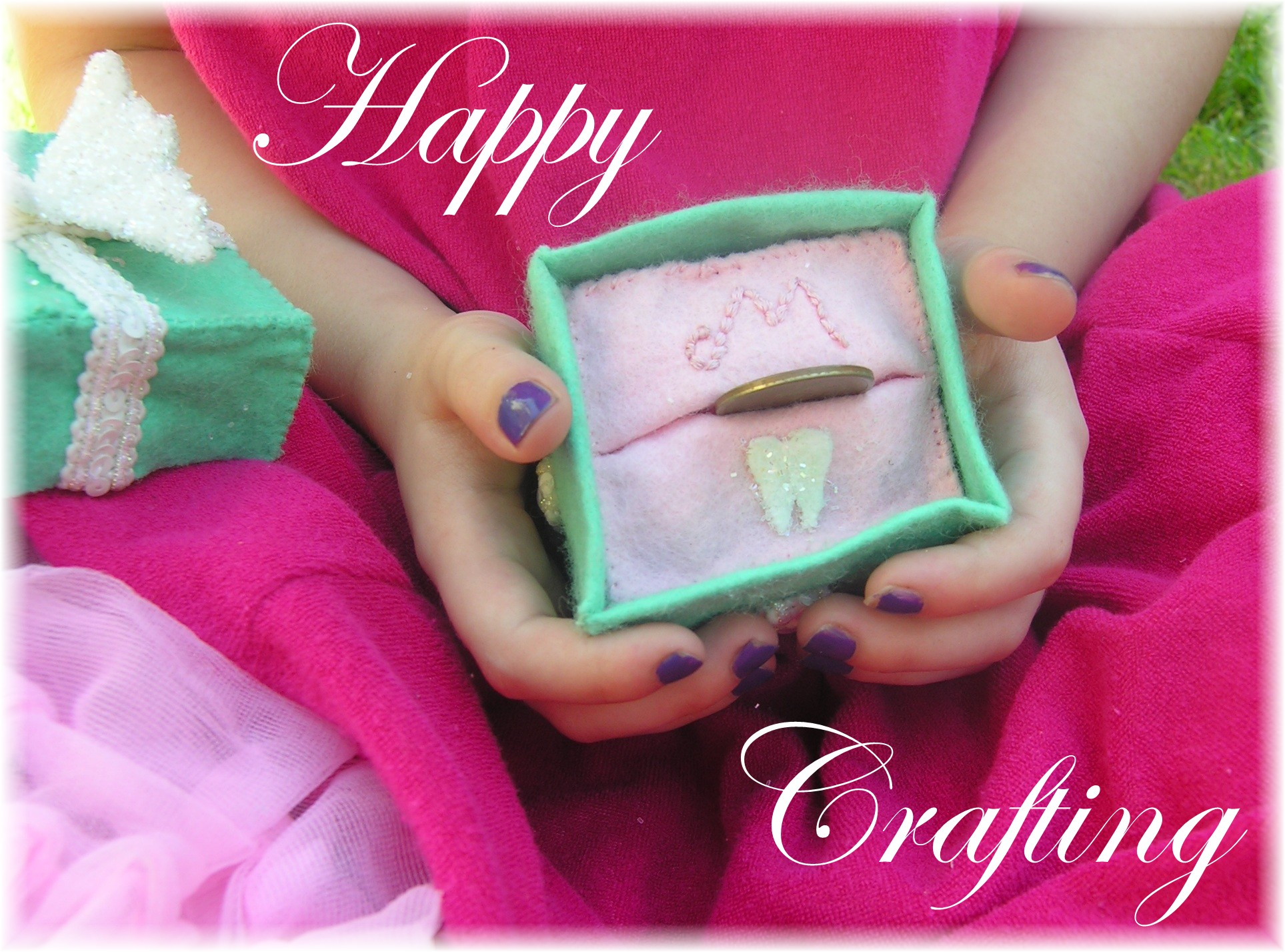 Tooth fairy box craft - Soft Felt Tooth Fairy Pillow Box American Felt And Craft The Blog