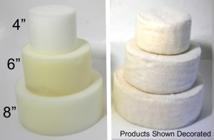 Selection of foam rounds from American Felt and Craft.