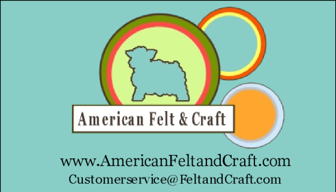 American Felt and Craft store ad