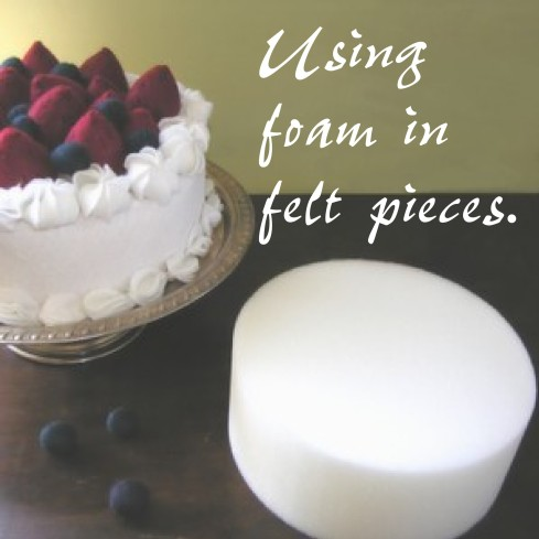 foam felt food