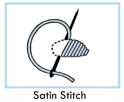 How to satin stitch