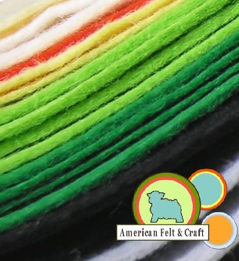 Wool blend felt sheets