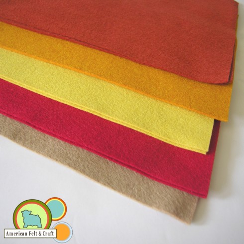 American Felt and Craft felt Friday wool felt southwest