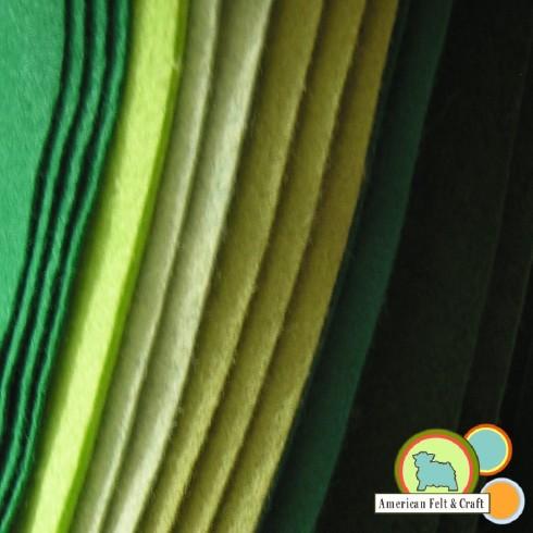 Green Felt St. Patrick's Day