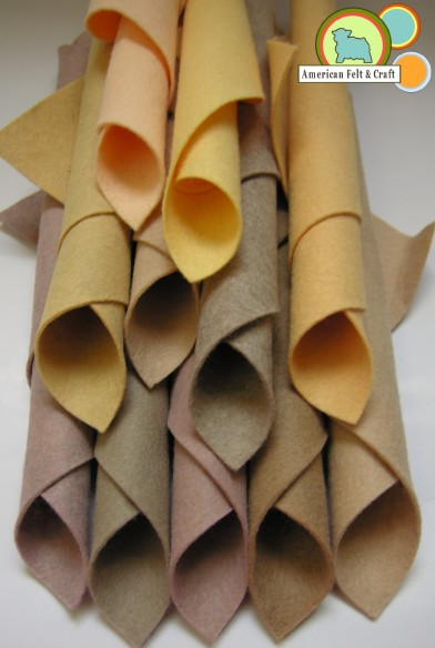 neutral felt colors