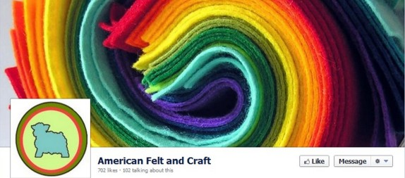 American Felt and Craft Facebook