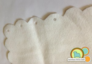hole punch felt