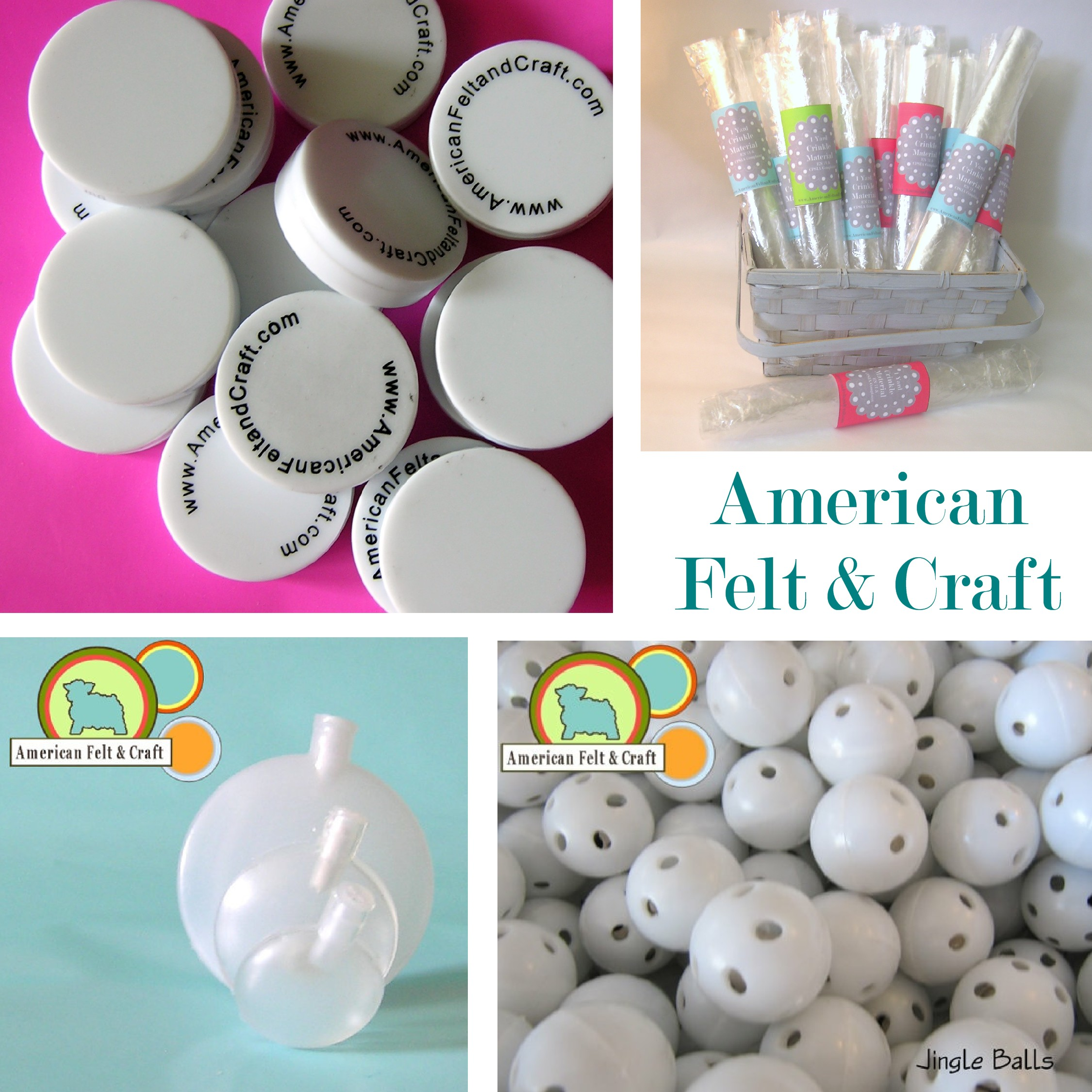 Supplies to make baby toys