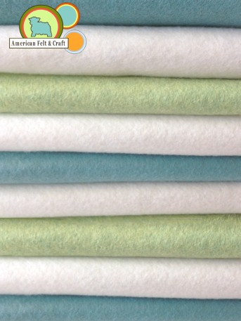 Felt sheets in boy colors - American Felt and Craft felt supply