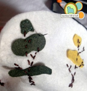 Felt autumn project
