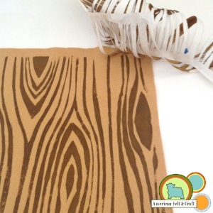 Use freezer paper to create stencils for felt. - American Felt and Craft- The Blog