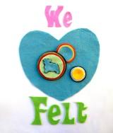 American Felt and Craft 160 colors of wool blend felt