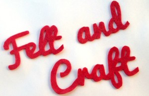cutting detailed letters and shapes from felt american With cutting felt letters