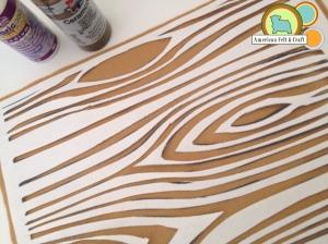 Making a felt stencil with freezer paper- tutorial