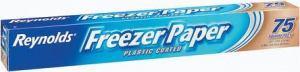 Freezer paper in rolls