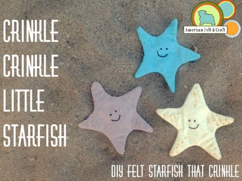 Crinkle Starfish tutorial