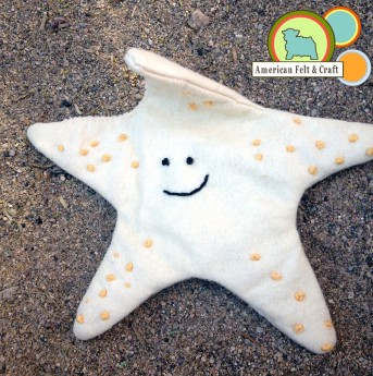 Felt Starfish tutorial