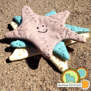 How to make an easy Starfish crinkle toy