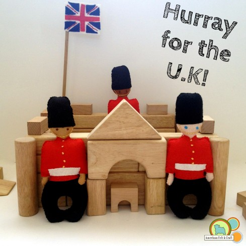 Rattle Tutorial - Buckingham Palace Guards - Welcome new royalty into your home with this Felt Palace Guard Baby Rattle.