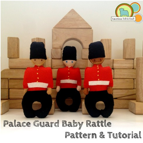 Felt Rattle Tutorial- How to make a place guard baby rattle - Lots of other felt projects too!