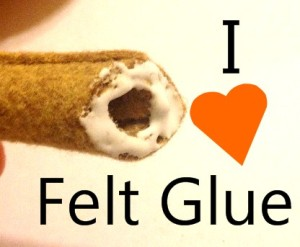 Felt Glue is the Best!