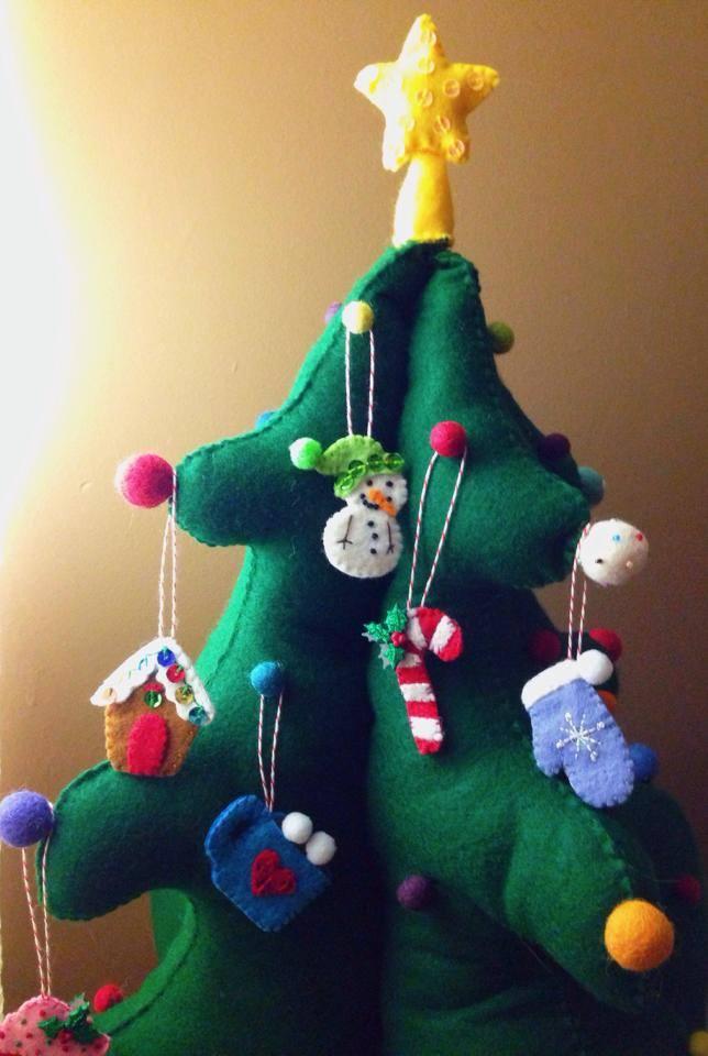 DIY Kids Felt Advent Christmas Tree American Felt Craft Blog Mesmerizing Felt Christmas Tree Pattern