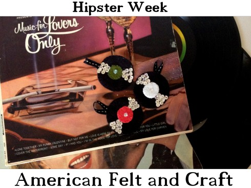 Hipster Week American Felt and Craft VR ornament preview