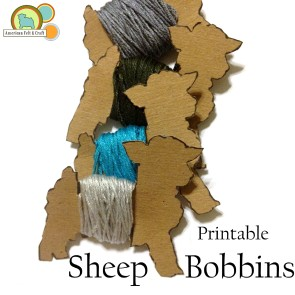 Sheep shaped bobbins