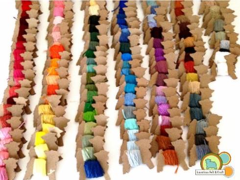 Cross Stitching Thread