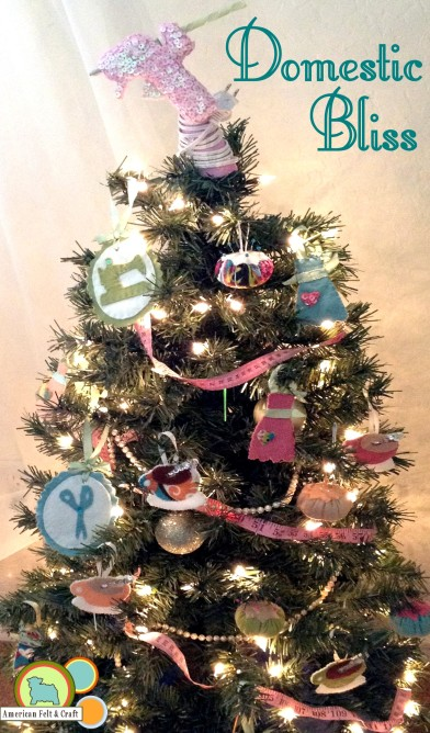 Domestic Bliss Chistmas Tree Tutorials step by step