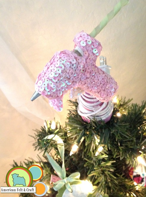 Hot Glue Gun Tree Topper Tutorial