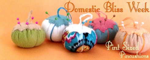 Felt Pincushion Tutorial