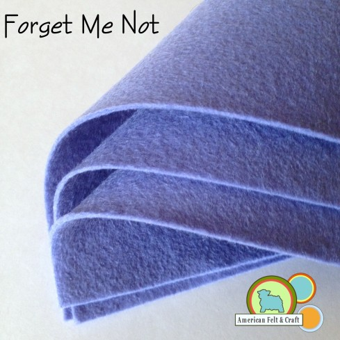 Forget Me Not Felt Sheets from American Felt and Craft