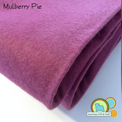 Mulberry Pie Felt from American Felt and Craft