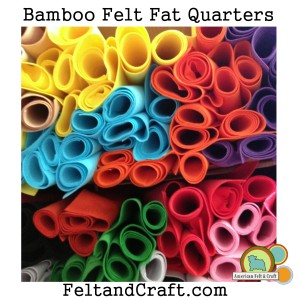 Bamboo felt from American Felt and Craft Ships worldwide